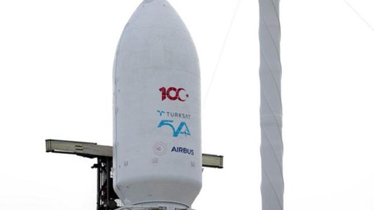 Türksat 5A uydusunun fırlatılma anından. Görsel DHA